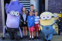 i was so excited to meet the minions